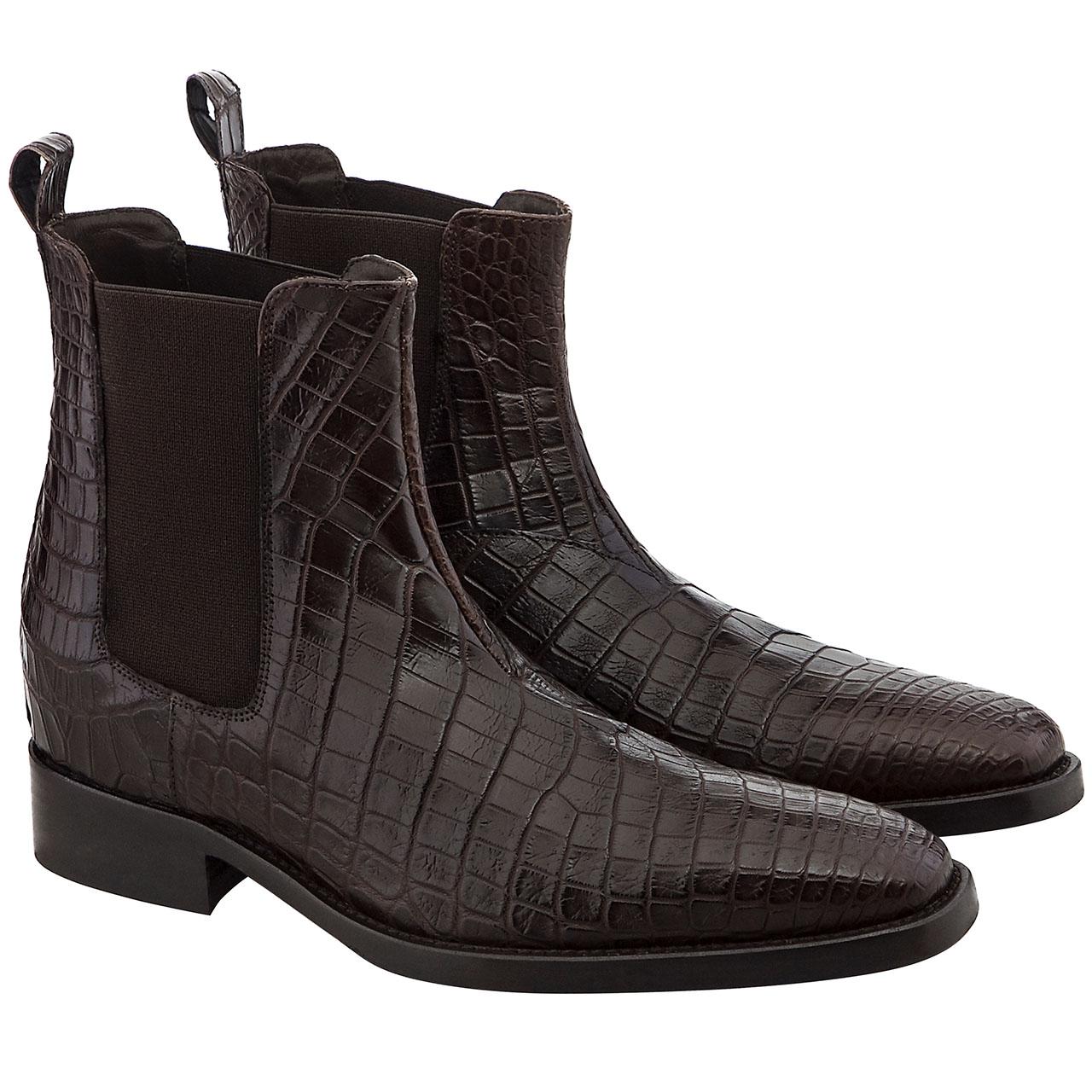Cape Town - Elevator Shoes Guidomaggi, Crocodile Boots