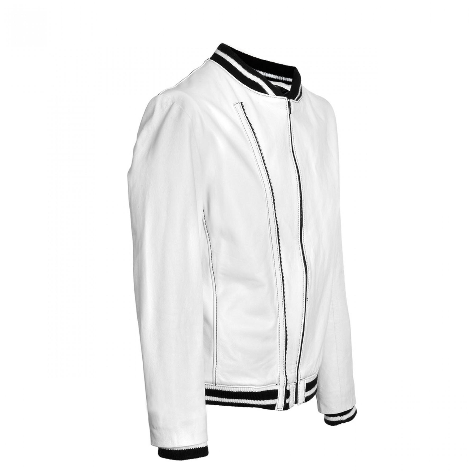 yale leather jacket