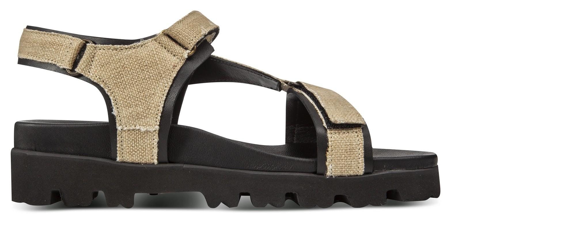 Sandalo scarpe con rialzo